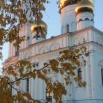 Золото листьев и золото куполов - умиротворяющее зрелище