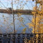 Городская набережная осенью, пожалуй, одно из самых красивых мест в Краснотурьинске