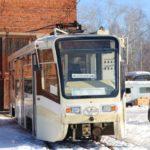 Трамваи в Волчанске. Фото: Дмитрий Грищук